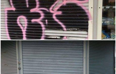 Graffiti eemaldus Pärnus ja Pärnumaal