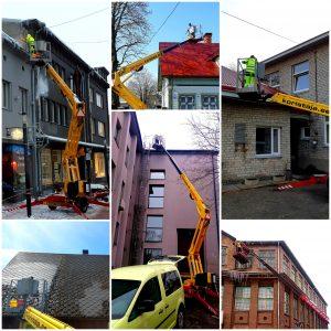 Vihmarennide ja katuse puhastus Pärnumaal